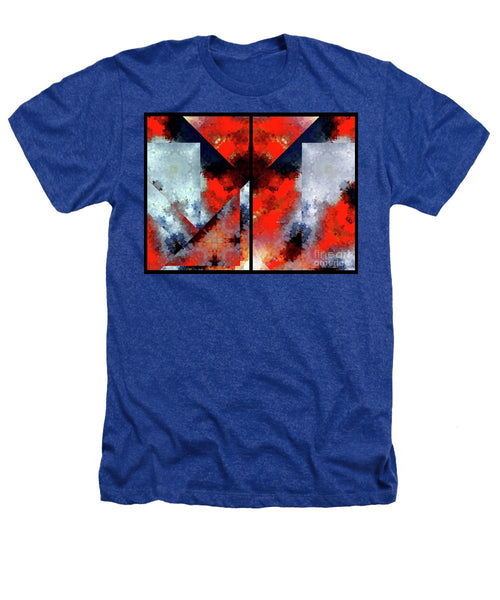 Heathers T-Shirt - Abstract 475 476 Diptych