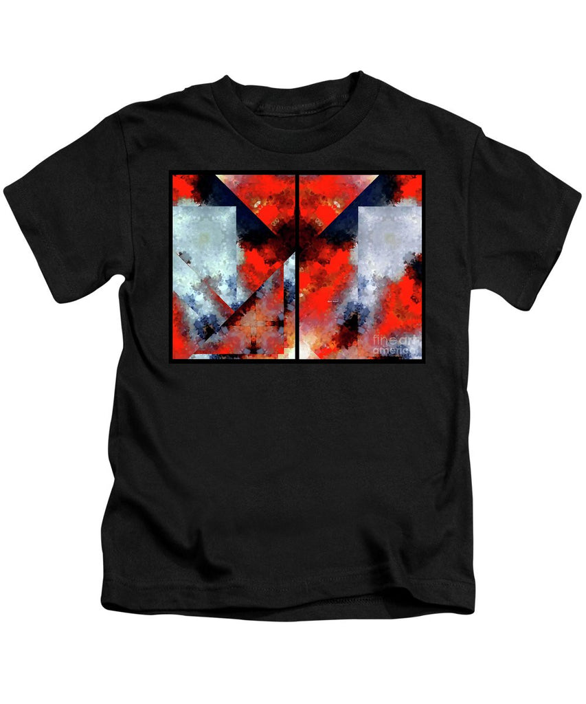 Kids T-Shirt - Abstract 475 476 Diptych