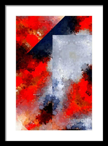 Framed Print - Abstract 475