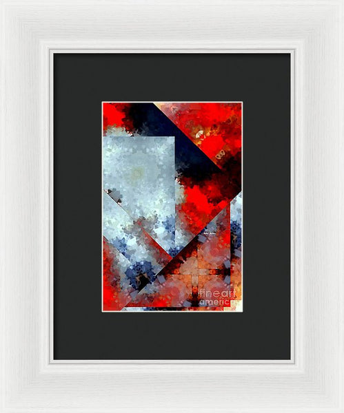 Framed Print - Abstract 476