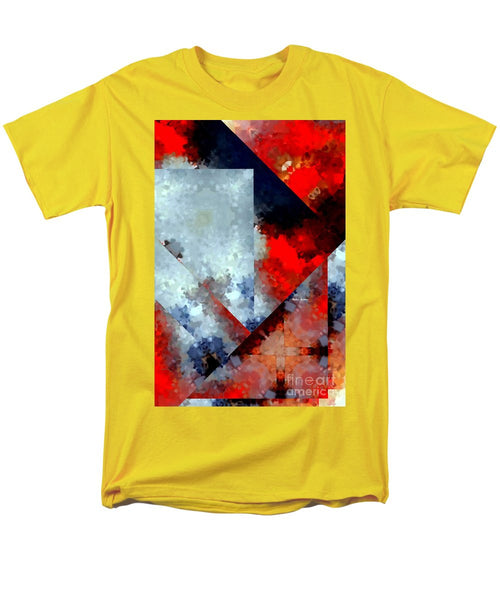 Men's T-Shirt  (Regular Fit) - Abstract 476