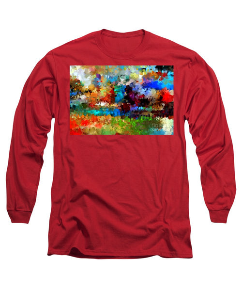 Long Sleeve T-Shirt - Abstract 477