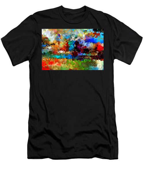 Men's T-Shirt (Slim Fit) - Abstract 477