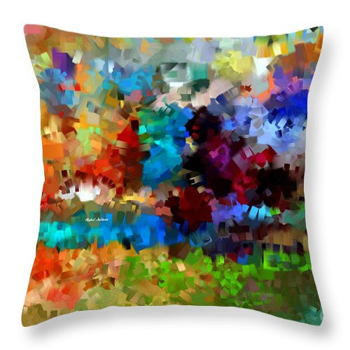Throw Pillow - Abstract 477
