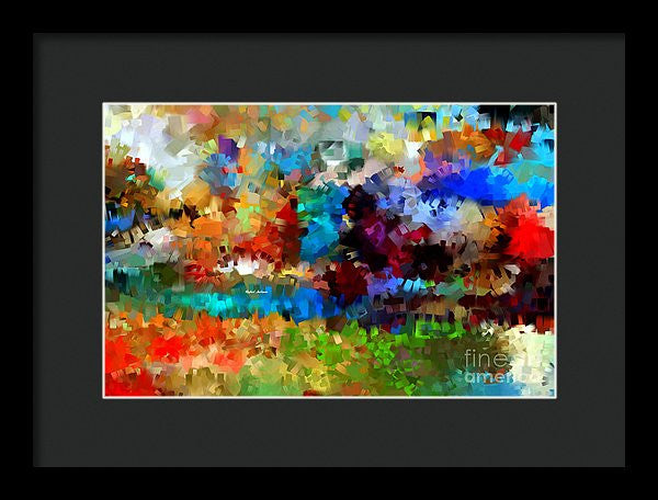 Framed Print - Abstract 477