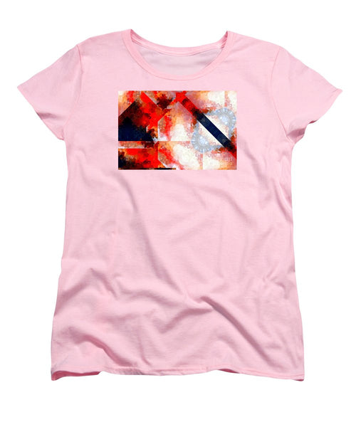 Women's T-Shirt (Standard Cut) - Abstract 566