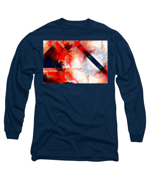 Long Sleeve T-Shirt - Abstract 566