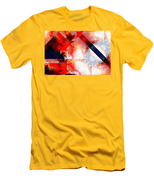 Men's T-Shirt (Slim Fit) - Abstract 566