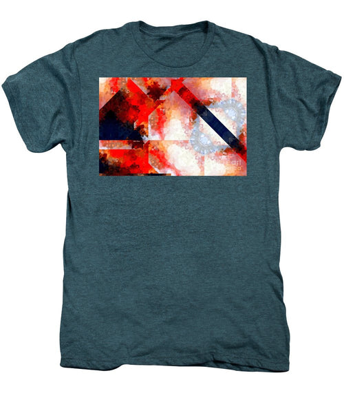 Men's Premium T-Shirt - Abstract 566