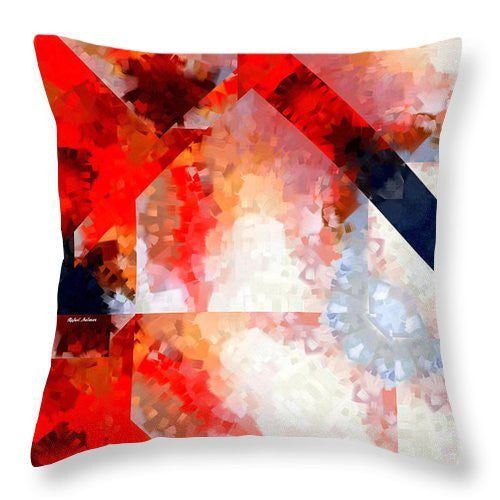 Throw Pillow - Abstract 566