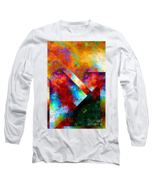 Long Sleeve T-Shirt - Abstract 568