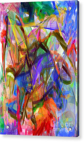 Acrylic Print - Abstract 9206