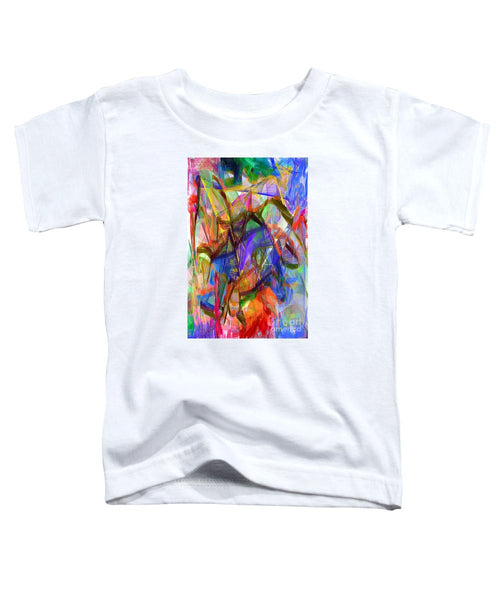 Toddler T-Shirt - Abstract 9206