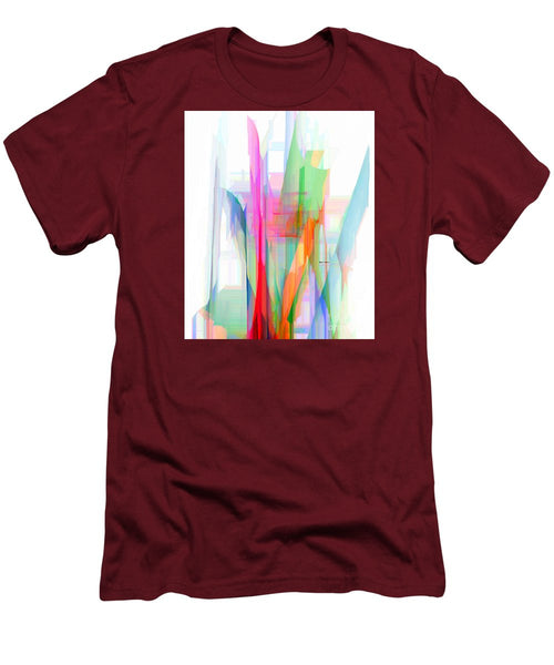 Men's T-Shirt (Slim Fit) - Abstract 9501-001