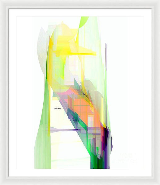 Framed Print - Abstract 9505-001