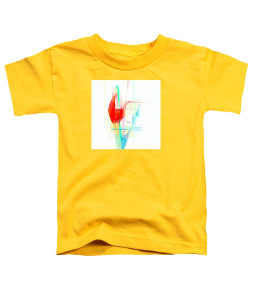 Toddler T-Shirt - Abstract 9507
