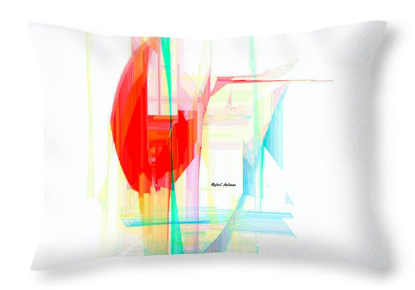 Throw Pillow - Abstract 9507