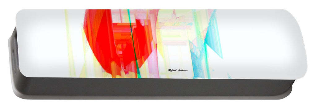 Portable Battery Charger - Abstract 9507