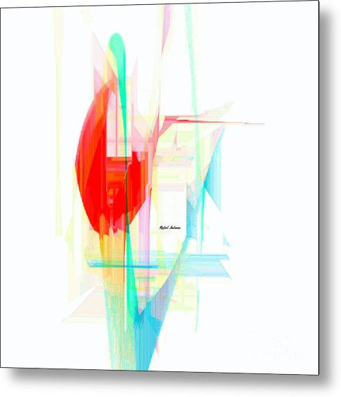 Metal Print - Abstract 9507