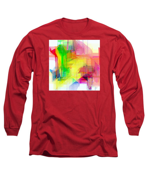 Long Sleeve T-Shirt - Abstract 9509