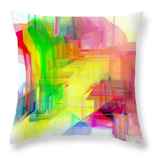 Throw Pillow - Abstract 9509