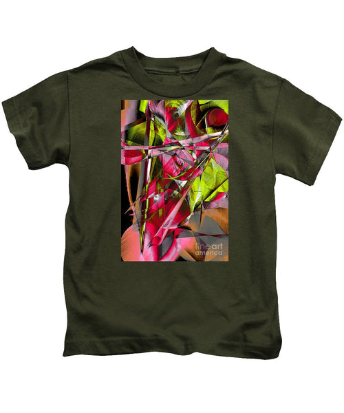 Kids T-Shirt - Abstract 9537