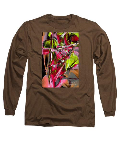 Long Sleeve T-Shirt - Abstract 9537