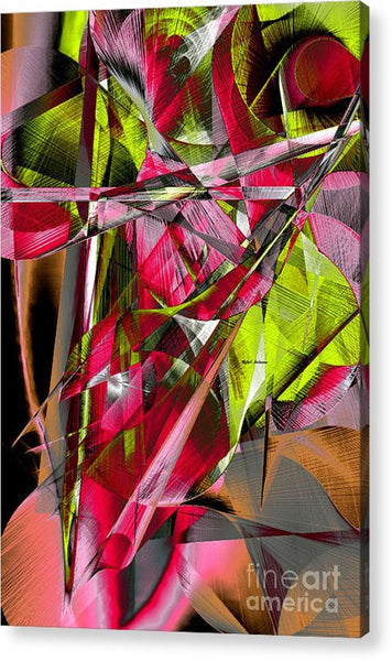 Acrylic Print - Abstract 9537