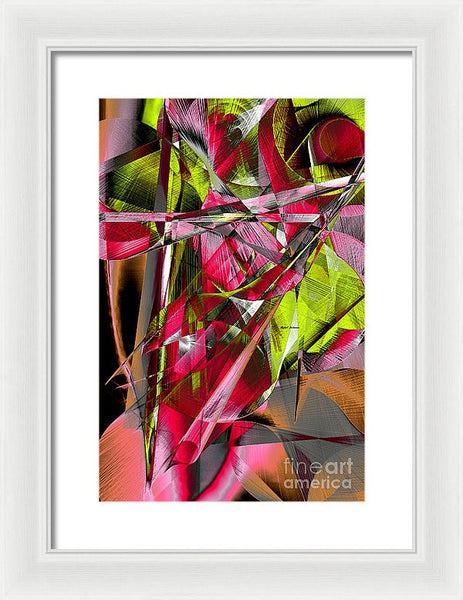 Framed Print - Abstract 9537