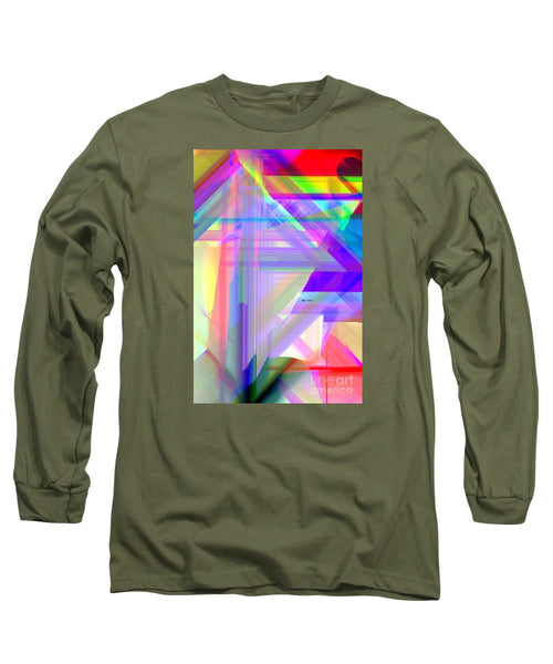 Long Sleeve T-Shirt - Abstract 9585