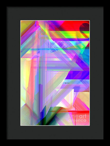 Framed Print - Abstract 9585
