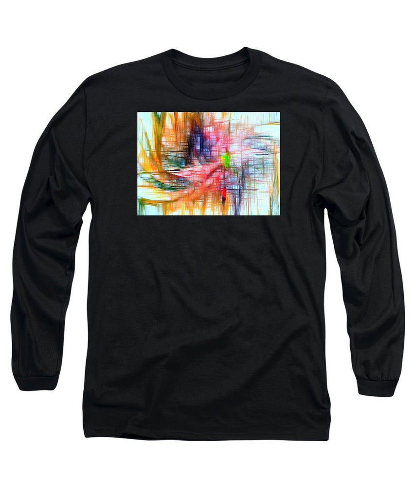 Long Sleeve T-Shirt - Abstract 9586