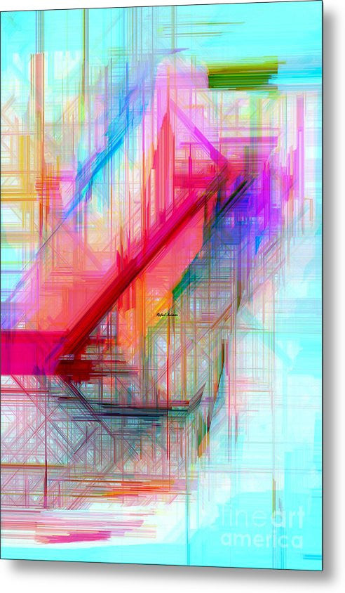 Metal Print - Abstract 9589