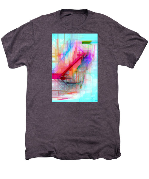 Men's Premium T-Shirt - Abstract 9589