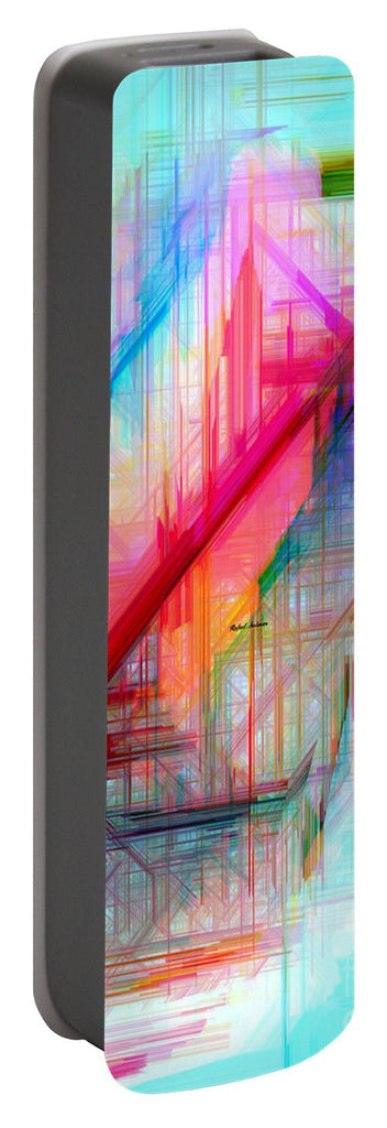 Portable Battery Charger - Abstract 9589