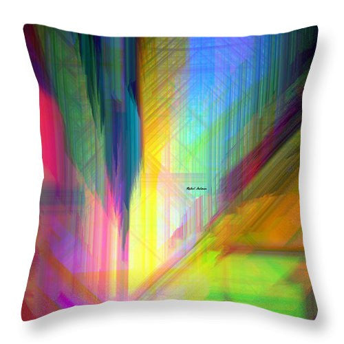 Throw Pillow - Abstract 9590