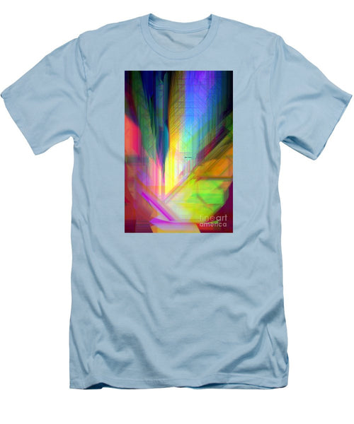Men's T-Shirt (Slim Fit) - Abstract 9590
