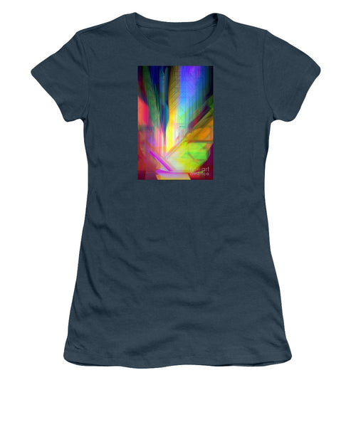 Women's T-Shirt (Junior Cut) - Abstract 9590