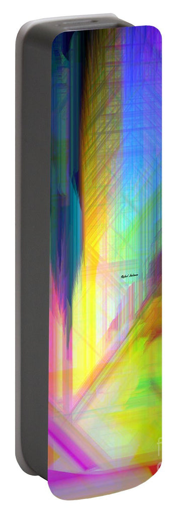 Portable Battery Charger - Abstract 9590