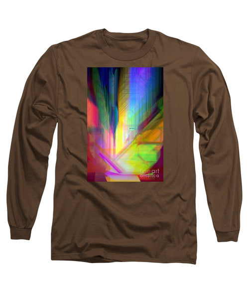 Long Sleeve T-Shirt - Abstract 9590