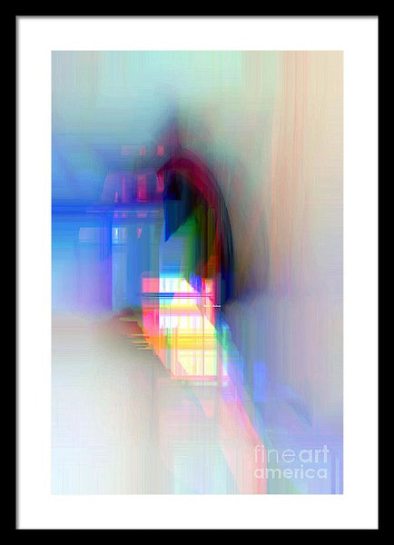 Framed Print - Abstract 9592