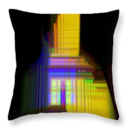 Throw Pillow - Abstract 9593