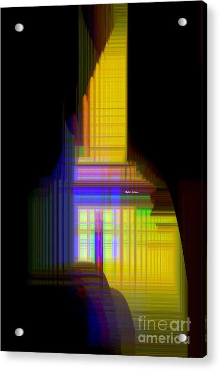 Acrylic Print - Abstract 9593