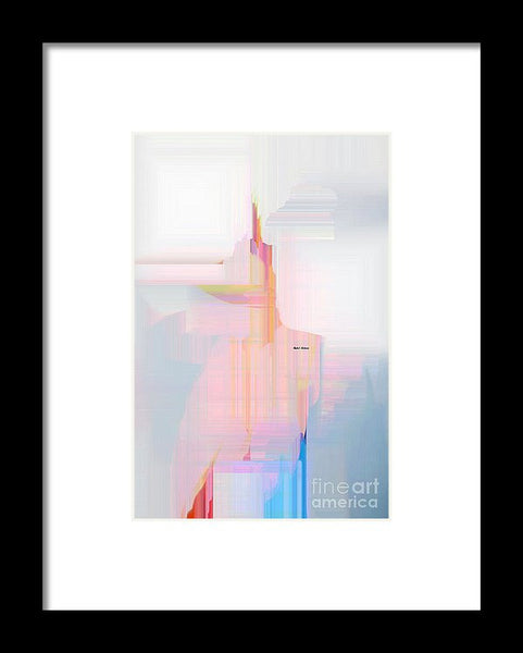 Framed Print - Abstract 9594