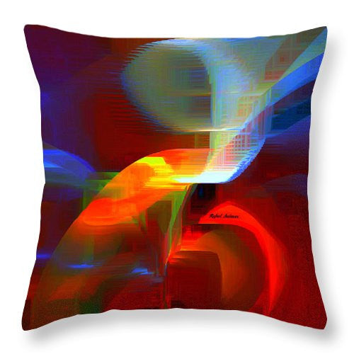 Throw Pillow - Abstract 9597