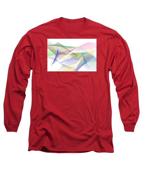 Long Sleeve T-Shirt - Abstract 9598