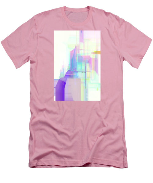 Men's T-Shirt (Slim Fit) - Abstract 9599