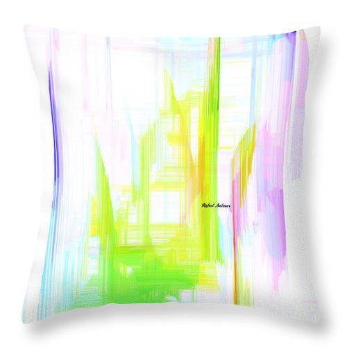 Throw Pillow - Abstract 9615