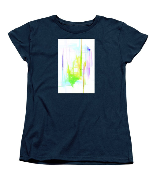 Women's T-Shirt (Standard Cut) - Abstract 9615
