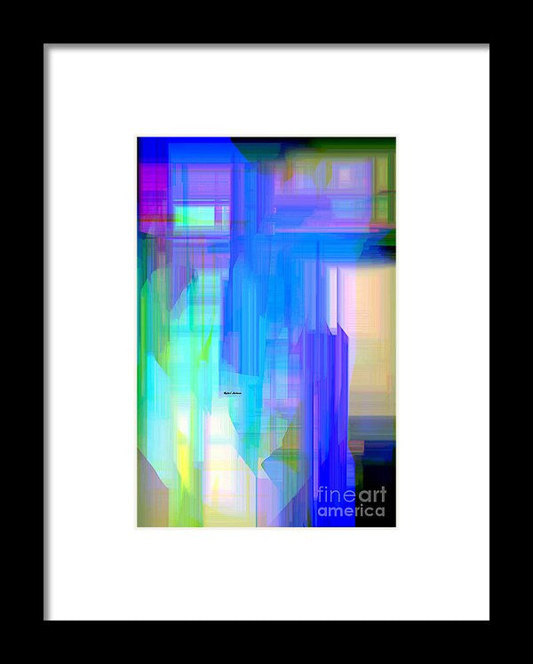 Framed Print - Abstract 962